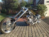 Beautiful Custom Motorcycle Built by Chopper Works for