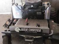 2004 DIXIE CHOPPER XT2800 ZERO TURN MOWER 28HP 60 IN