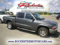 2004 Dodge Dakota SLT with 101,076 miles. Locally