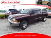 Options:  2004 Dodge Dakota Slt Plus 4X4| |3-Point Rear