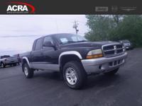 Used Dodge Dakota, options include:  Keyless Entry,