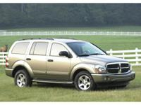 4WD! Silver Bullet! This great 2004 Dodge Durango is