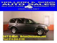 Options Included: ONE OWNER!!!! 2004 Dodge Durango SLT