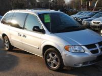 This 2004 Dodge Grand Caravan can fit up to 7