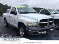 Bright White Clearcoat 2004 Dodge Ram 1500 ST RWD