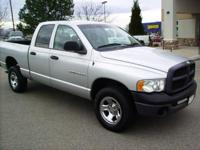 Options Included: 4x4, Air Conditioning, AM/FM, CD,