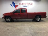 2004 Dodge Ram 2500 SLT 2WD Long Bed Quad Cab 5.9L