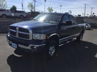 Ram 2500! Powerful 5.9 Liter Diesel Engine, And
