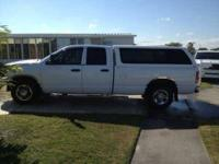 2004 Dodge Ram 2500 in Excellent Condition White