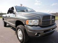 THIS 2004 DODGE RAM2500 SLT JUST CAME IN. THIS DODGE