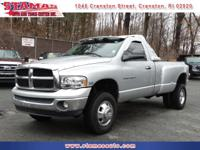 This 2004 Ram 3500 Dually is a must see! This truck has