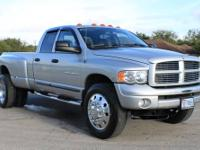 Your looking at a gorgeous 2004.5 RAM 3500 Dually 4X4