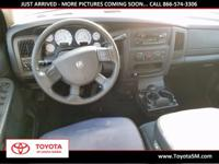 Options:  2004 Dodge Ram 1500 Slt|Red|Next Generation