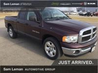 Options:  2004 Dodge Ram 1500 Slt/Laramie|2004 Dodge