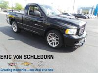 SRT-10 WITH ONLY 17000 MILES!,4.10 AXLE RATIO (STD),