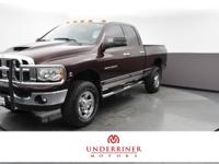 A BETTER BUYING EXPERIENCE. 2004 Dodge Ram 2500 SLT