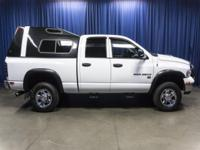 Clean Carfax 4x4 Truck with Canopy!  Options:  Am/Fm
