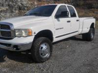 2004 Dodge Ram 3500 HD SLT 4x4 Dually. This truck has