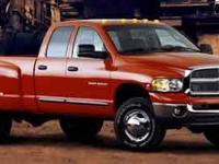 2004 Dodge Ram 3500 5.9 Cummings Turbo diesel with air