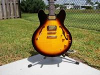 2004 EPIPHONE DOT DELUXE FLAME TOPBy Owner ~ Call for