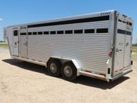 2004 Exiss/STC24 Gooseneck trailer. Trailer is all