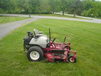 Thie mower is ready 2 go! Has new spindels along with