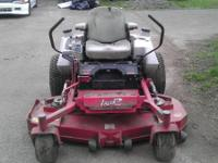 selling my exmark lazer mower has a 27hp kohler that