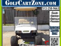 Electric Cart Ready For Customizing. This EZGO