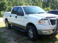 2004 Ford F150 King Cab truck, 4 wheel drive. One
