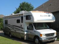 Covered storage for life of RV31 Class C MotorhomeFord