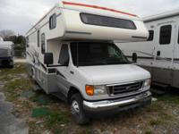 Used 2004 Fleetwood RV Tioga 26 Motor Home Class C rear