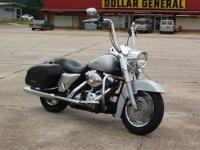 This 04 Road King is the top of the line model for 04.