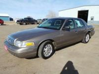 One Smooth Rider!! This Crown Victoria has a 4.6 liter