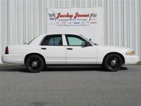 This 2004 Ford Police Interceptor Base w/3.27 Axle will