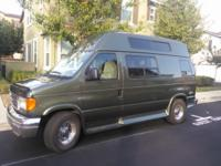 2004 Ford E 350 stem custom conversion van has