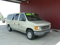 Options Included: N/A2004 E150 XL 8 PASSENGER VAN, 4.6