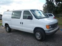 Options Included: N/ATHIS 2004 FORD E-250 VAN HAS BEEN