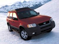 Recent Arrival! Red 2004 Ford Escape XLS AWD 4-Speed