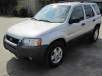 Options Included: Very clean, well equipped '04 Escape