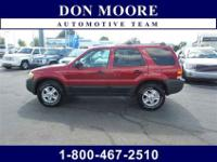 2004 Ford Escape XLT in Red Fire Clearcoat Metallic