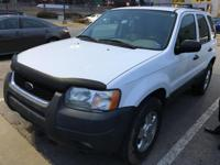 We are excited to offer this 2004 Ford Escape. This