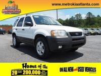 This 2004 Ford Escape XLT boasts features like a