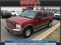 Turbocharged! Diesel! This handsome 2004 Ford Excursion