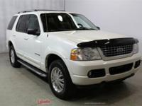 2004 Ford Explorer Limited White Clean CARFAX. 4X4,