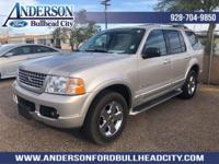 Silver 2004 Ford Explorer Limited RWD 5-Speed Automatic