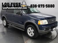 Local Trade In! Clean CARFAX. 2004 Ford Explorer Stop