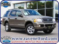 Options Included: 2004 Ford Explorer XLT ** Third Row