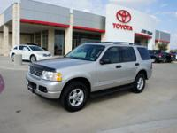 Options Included: N/AThis 2004 Ford Explorer XLT is