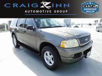 CARFAX One-Owner. Clean CARFAX. Gray 2004 Ford Explorer