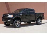 It is Loaded with many extras. This F150 is equipped